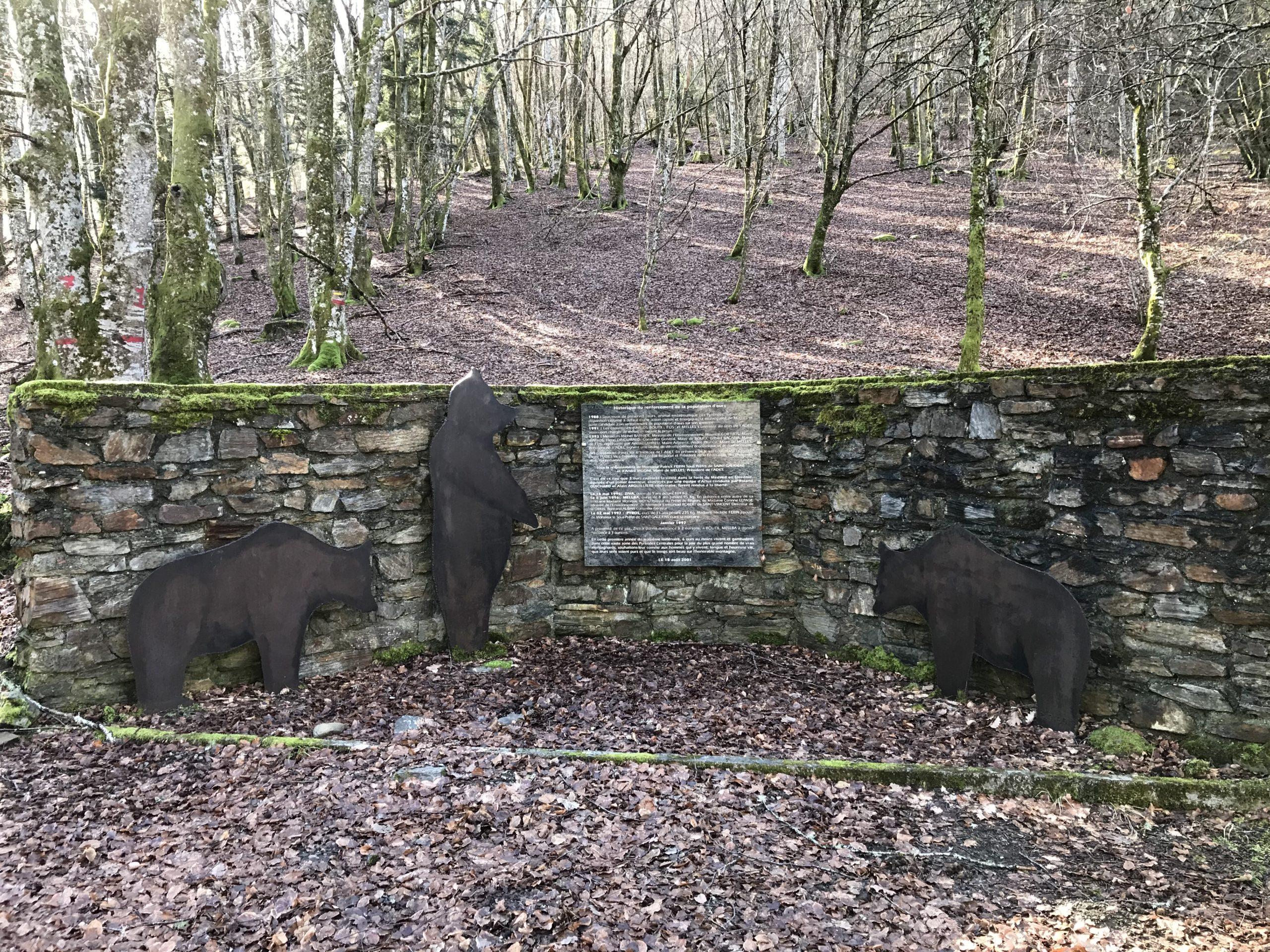 Mémorial de l'ours Melles